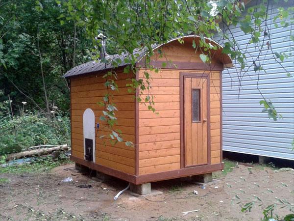 перевозная готовая баня емеля